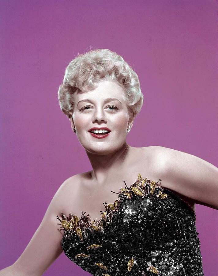 Bustier Photograph - Shelley Winters, 1950s by Everett