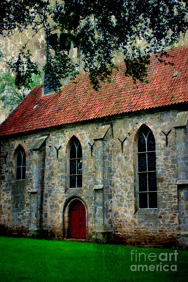 Church Photograph - Shelter From The Storm by Carol Groenen
