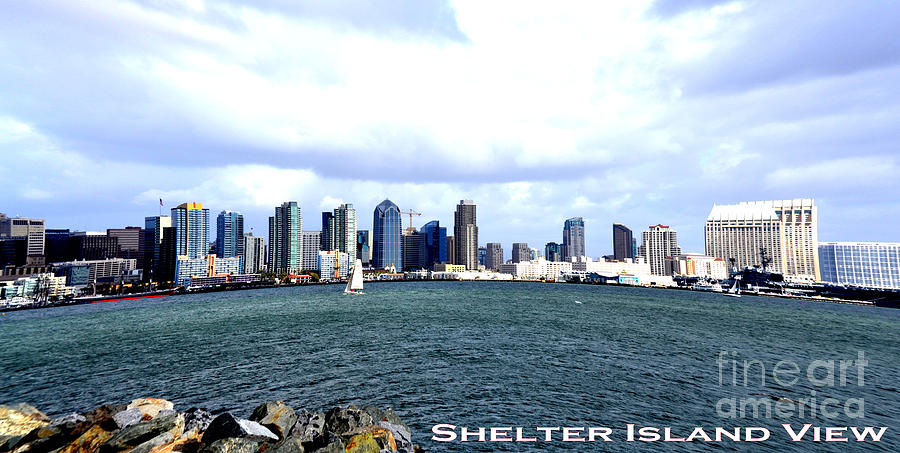 Shelter Island Ca View Photograph by RJ Aguilar