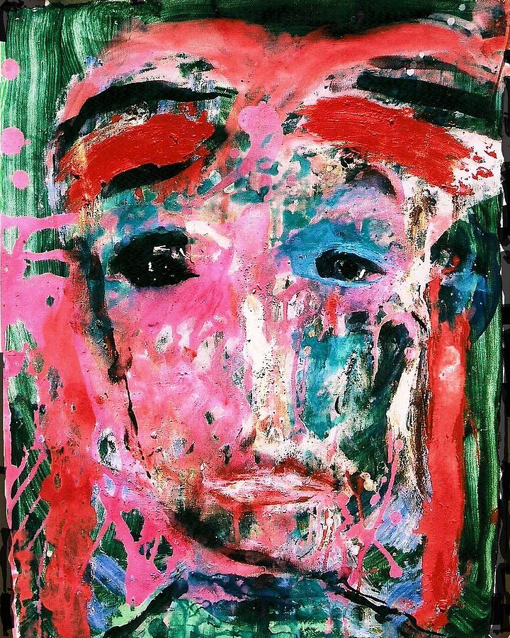 Impression Painting - Shepherd by Darlyne Sax