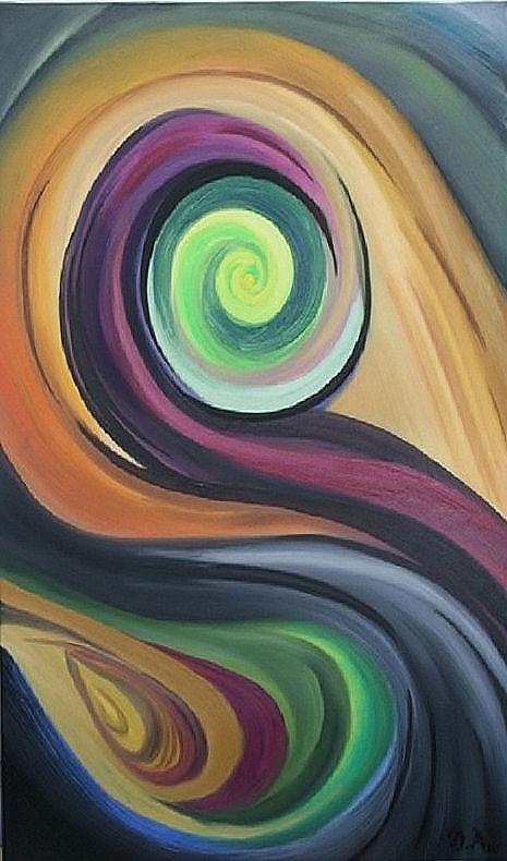 Shift Painting - Shift Of Seasons by Derya  Aktas