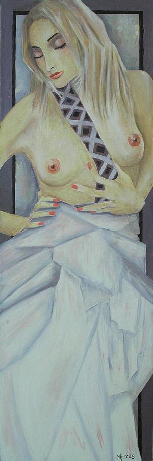 Female Painting - Shikira by Leslie Marcus