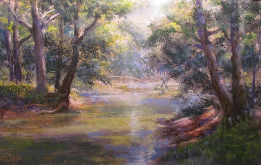 Shimmering Stream by Bill Puglisi