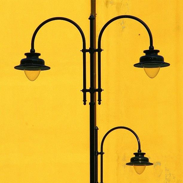 Decorative Photograph - Shine On.. #italy #lamppost by A Rey