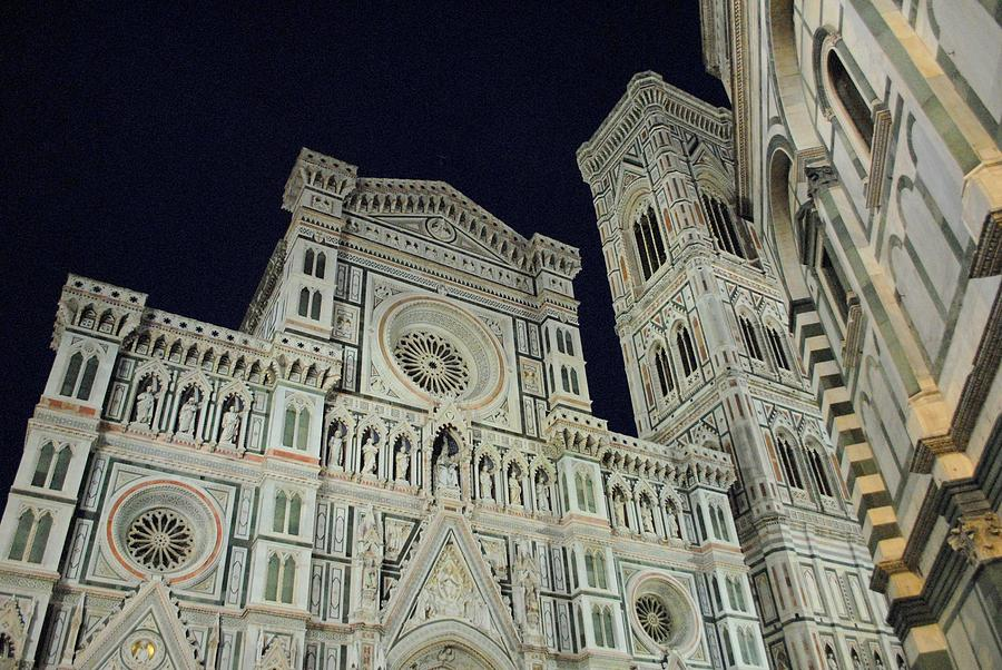 Duomo Photograph - Shining In The Night by