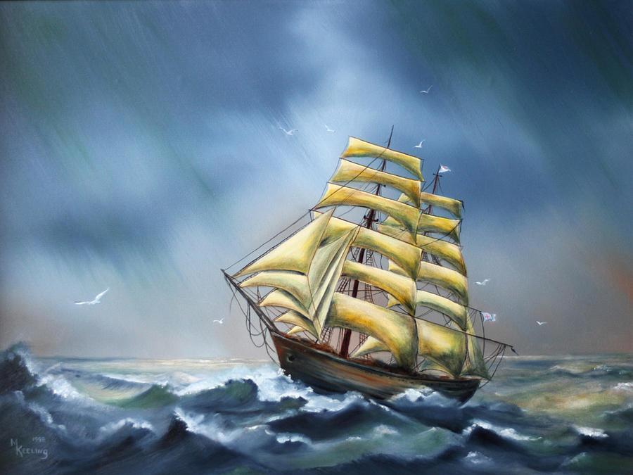 Ship by Meg Keeling