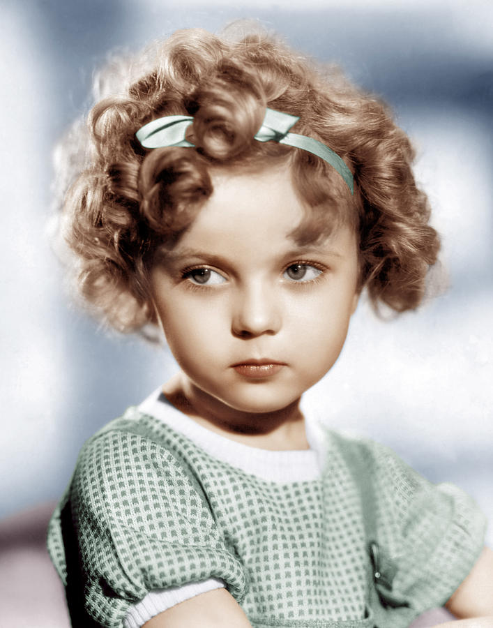 Child Actress Photograph - Shirley Temple, Ca. 1934 by Everett