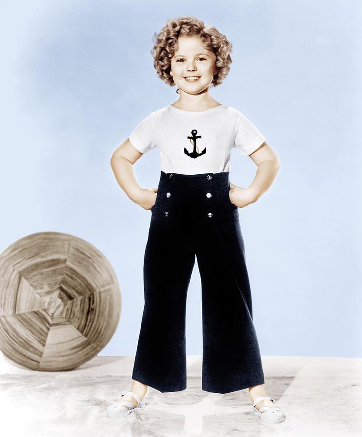 Anchor Photograph - Shirley Temple, Studio Portrait, Ca by Everett