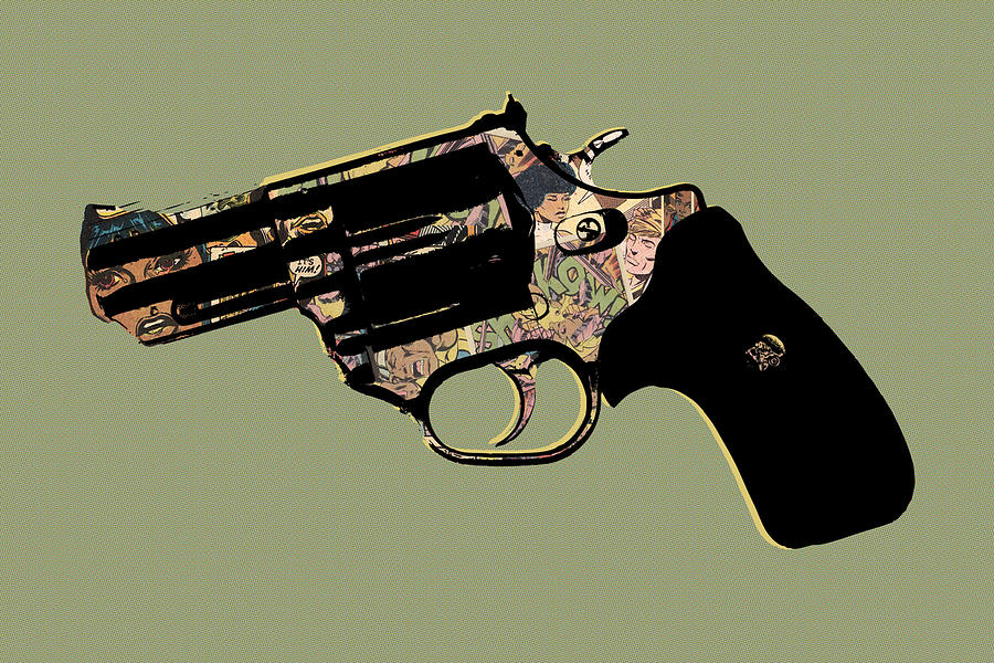 Pistol Digital Art - Shkow by Canis Canon
