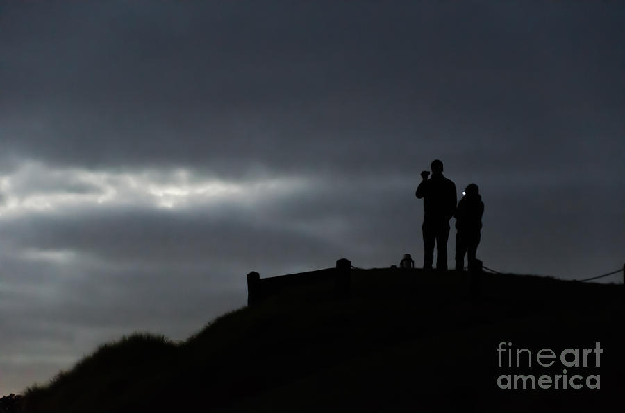 Shoot Photograph - Shooting Sunrise by Yurix Sardinelly