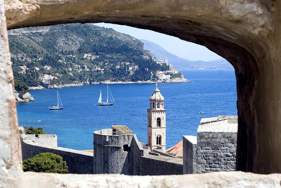 Shore Photograph - Shore From Castle Window by Roman Anuchkin