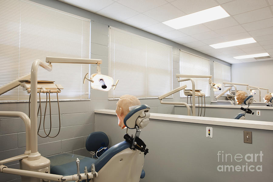 Academy Photograph - Shot Of Room In Dental School by Skip Nall