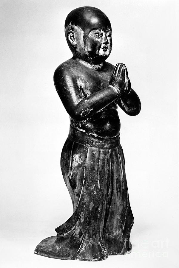 13th Century Photograph - Shotoku Taishi (574-622) by Granger