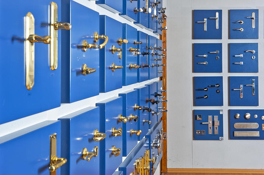 Large Group Of Objects Photograph - Showroom With Various Brass by Corepics