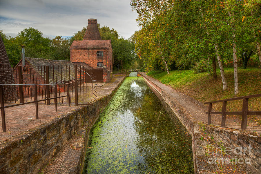 Kiln Photograph - Shropshire Canal by Adrian Evans