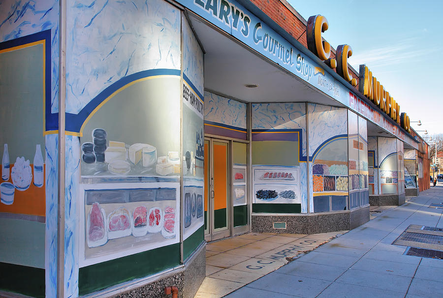 Stores Photograph - Shuttered Food Store by Steven Ainsworth