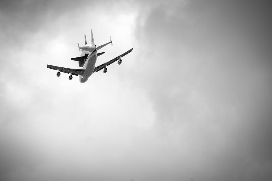 Space Shuttle Photograph - Shuttle Enterprise Shuttlebutt by Anthony S Torres