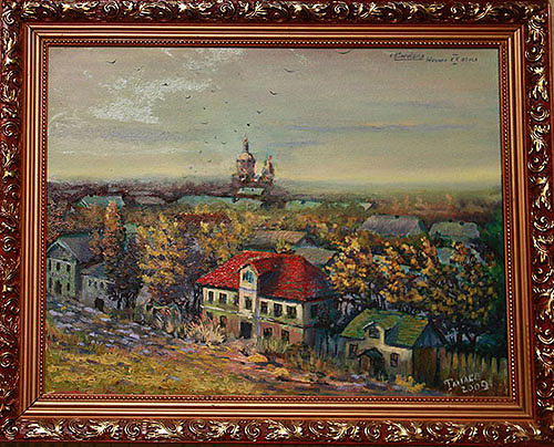 Sichevka The Beginning Of 20 Centuries Painting by Tanase Viorel