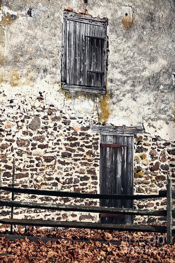 Entrance Photograph - Side Entrance by John Rizzuto