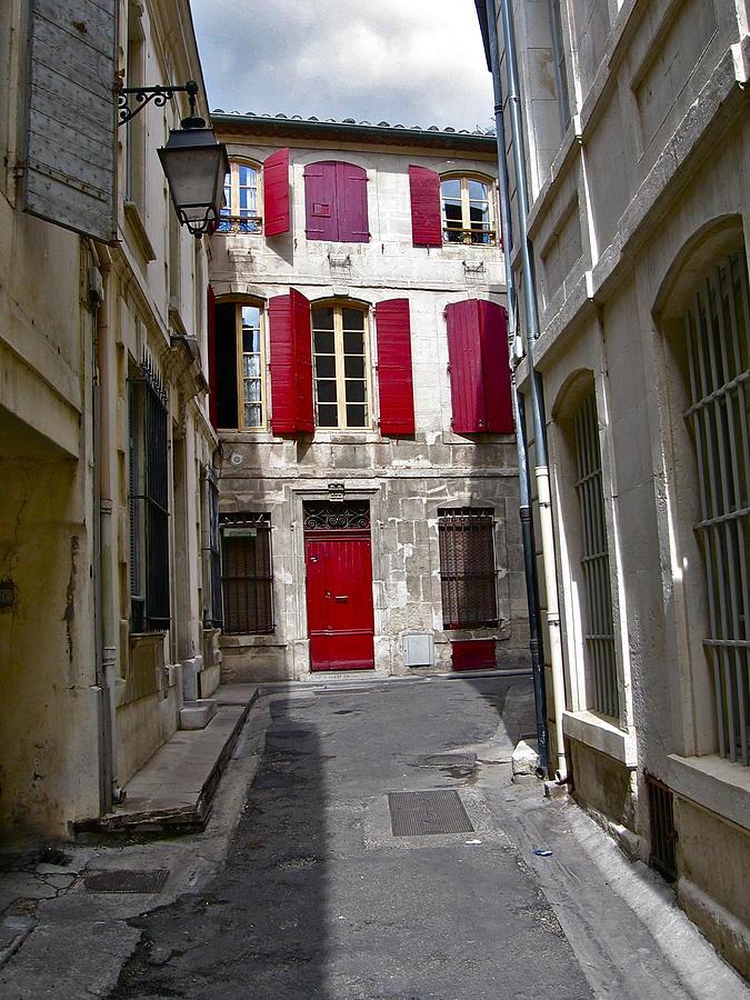 Arles Photograph - Sidestreet In Arles by David Ritsema