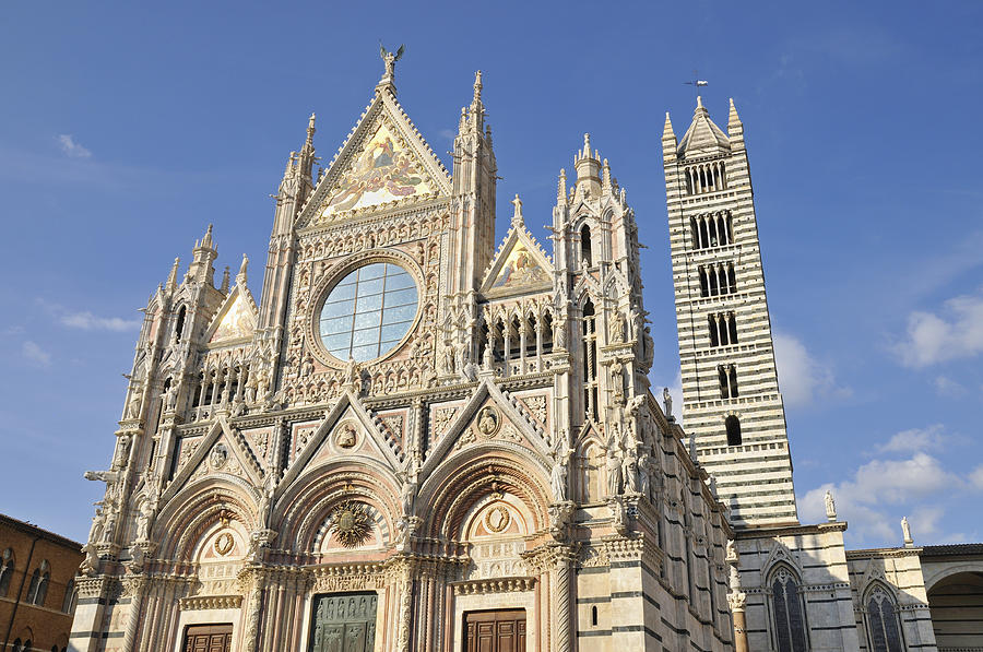 Duomo Photograph - Siena Cathedral - Duomo Santa Maria Assunta by Matthias Hauser