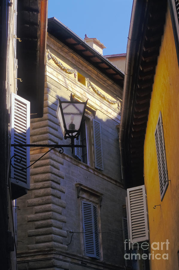Europe Photograph - Siena Street by Gordon Wood