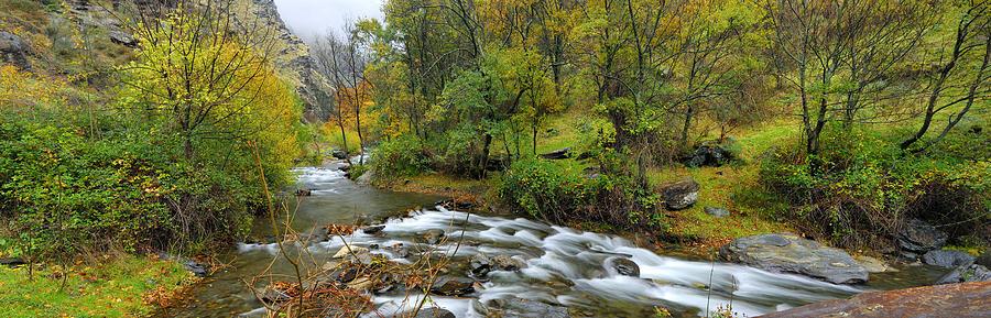 River Photograph - Sierra Nevada by Guido Montanes Castillo