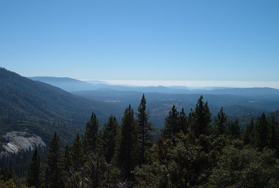 Nature Photograph - Sierra Nevada Mountains by Naxart Studio