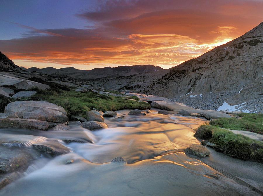 Horizontal Photograph - Sierra Wave Over Yosemite National Park High Count by David Kiene