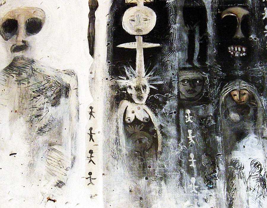 Wood Mixed Media - Signs Of Yesterday by Robert Daniels