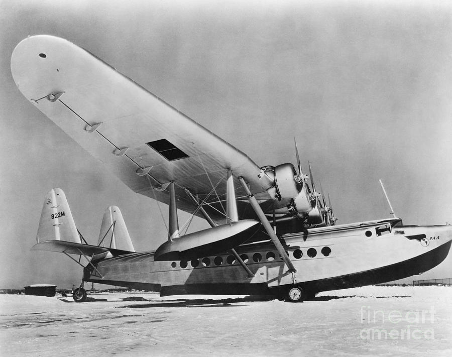 History Photograph - Sikorsky S-42 by Photo Researchers