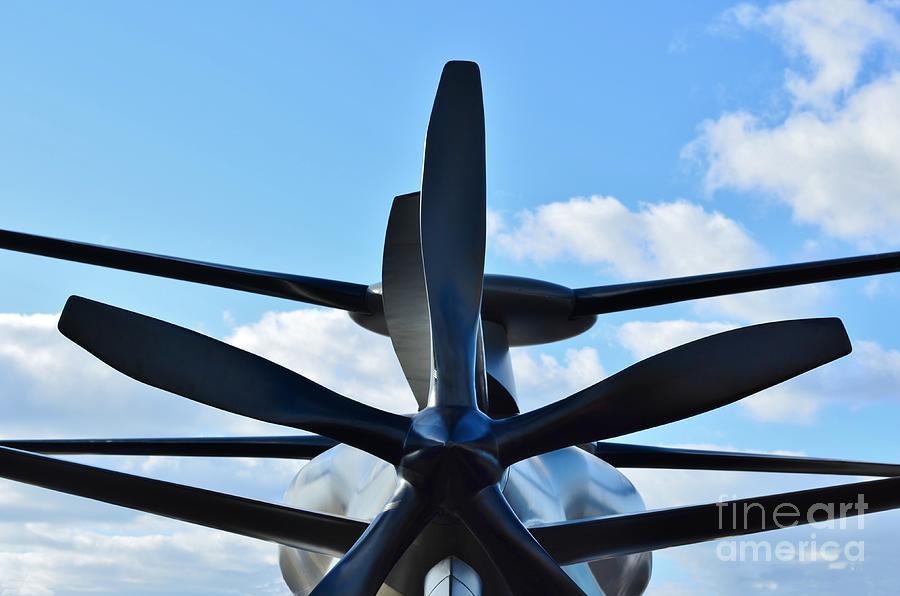 Model Photograph - Sikorsky X2 Demonstrator Model by Lynda Dawson-Youngclaus
