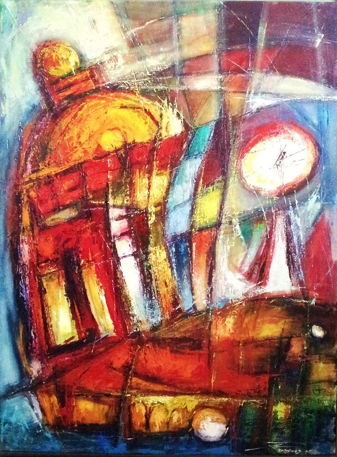 City Painting - Silencio A Voces by Juan D Rodriguez