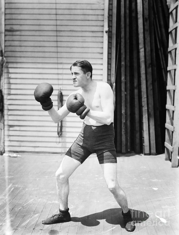 1920s Photograph - Silent Still: Boxer by Granger