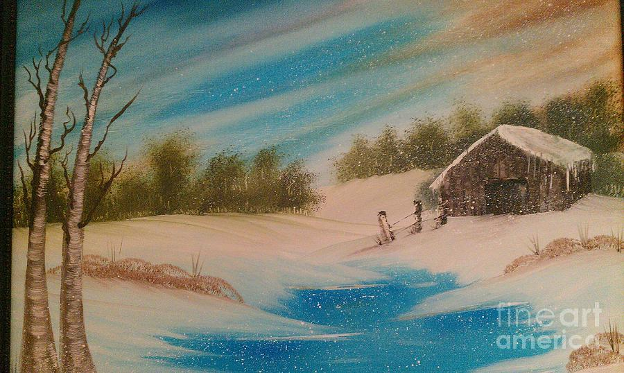 Landscapes Painting - Silent Whisper by Nick