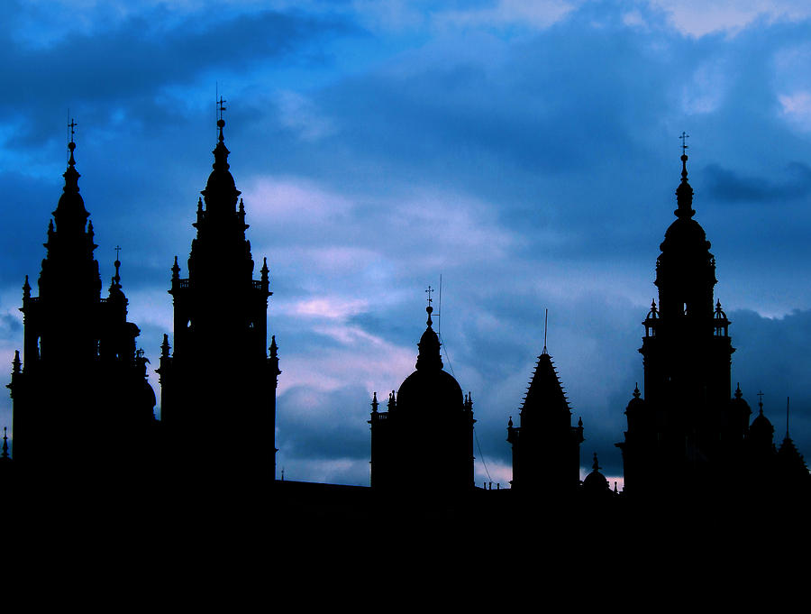 Spain Photograph - Silhouette Of Spanish Church by Jasna Buncic