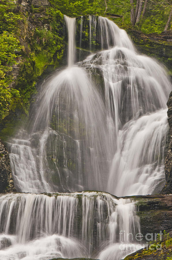Waterfalls Photograph - Silky by Alise Caccese