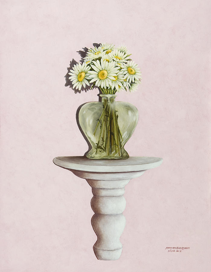 Still Life Paintings Painting - Simple Things by Mary Ann King