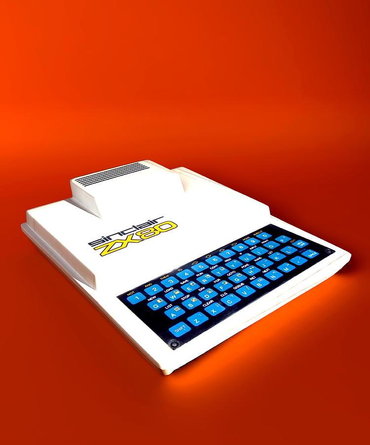 Zx80 Photograph - Sinclair Zx80 Personal Computer by Christian Darkin