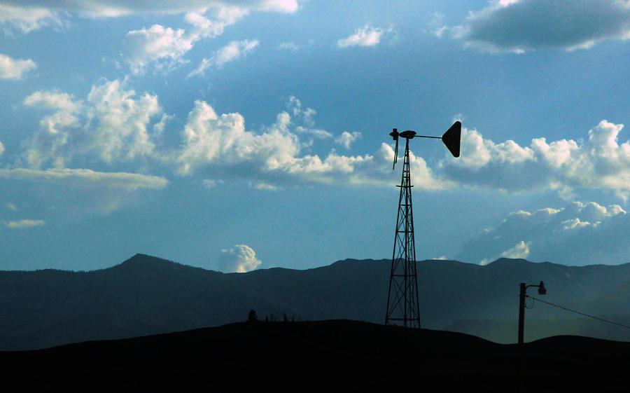 Windmill Photograph - Singularity by Doug Hubbard