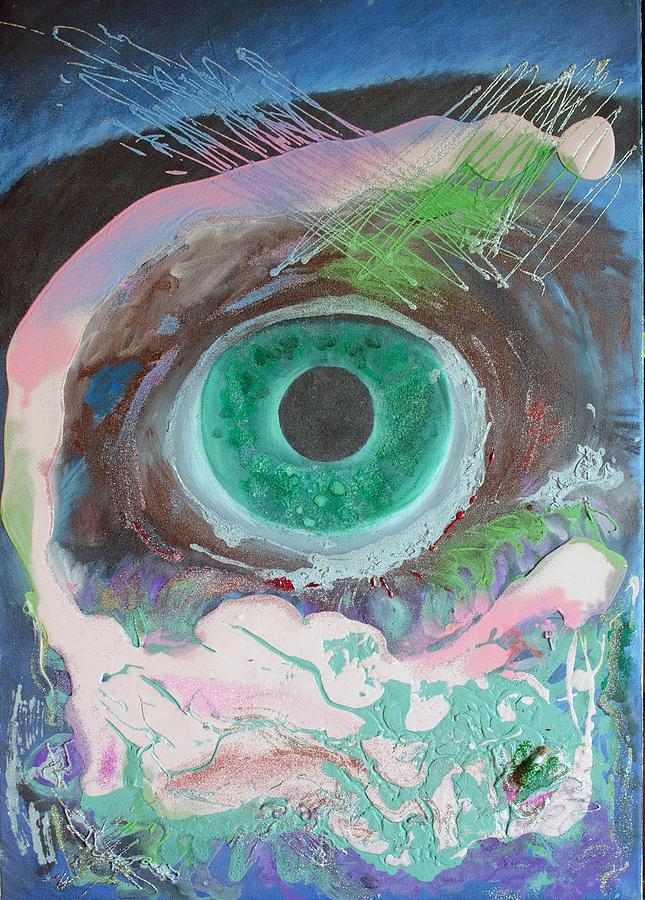 Landscape Painting - Singularity by Neda Laketic