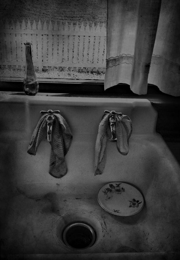 Sink Photograph - Sinking Tears by Jerry Cordeiro