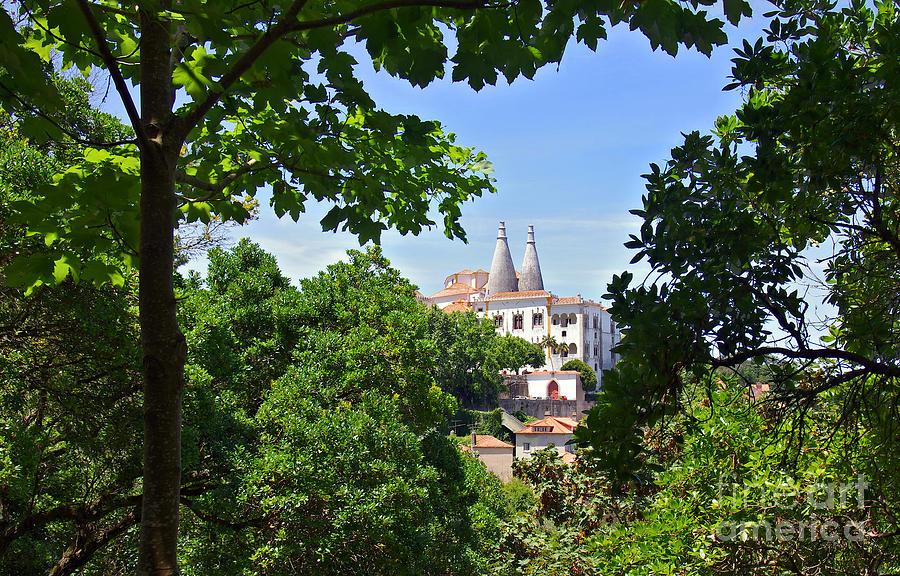 Ancient Photograph - Sintra National Palace by Carlos Caetano