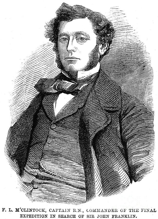 1859 Photograph - Sir Francis L. Mcclintock by Granger
