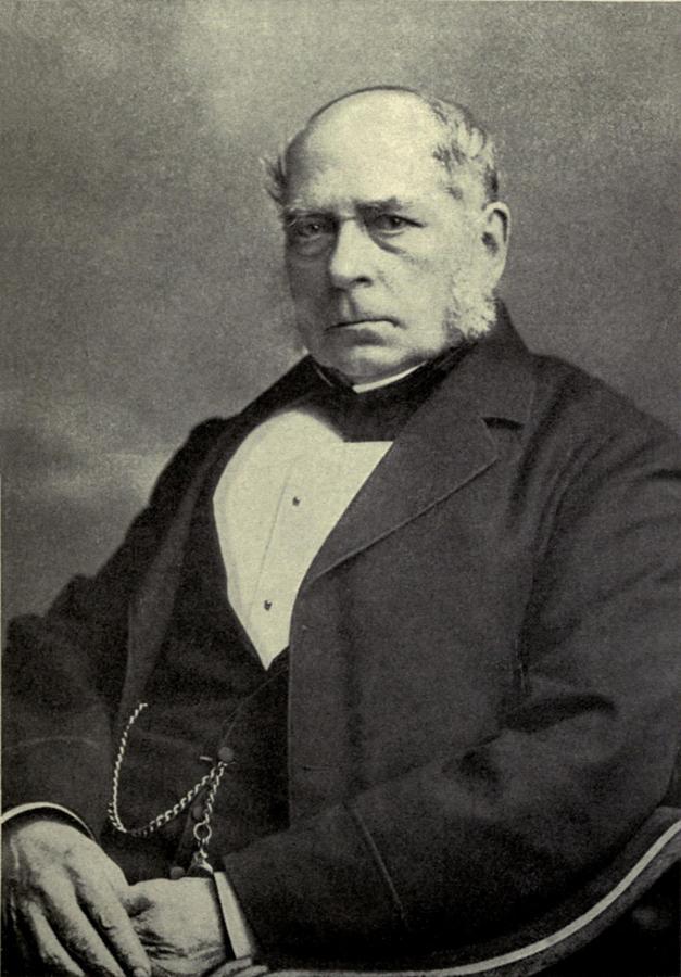 History Photograph - Sir Henry Bessemer 1813-1898, A British by Everett