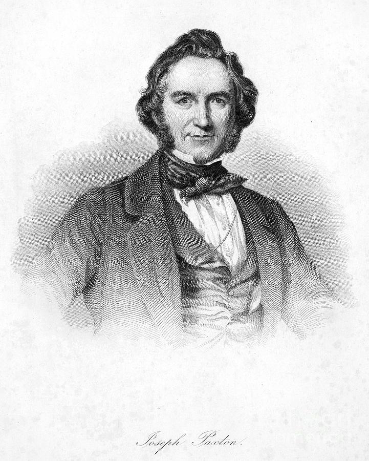 Sir Joseph Paxton Photograph by Granger