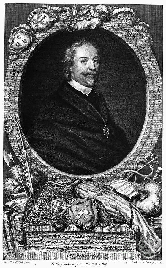 Diplomat Photograph - Sir Thomas Roe (c1581-1644) by Granger
