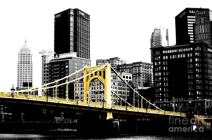 Bridge Photograph - Sister #2 In Pittsburgh by Paul Henry