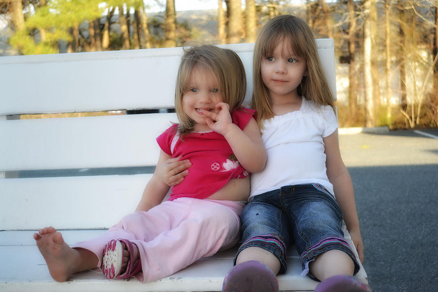 Family Photograph - Sisters by Kelly Reber