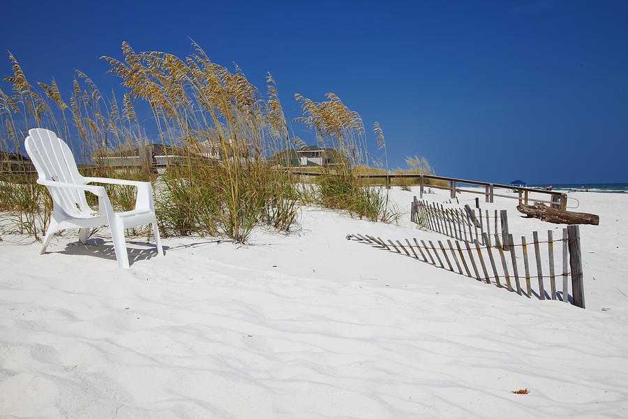 Beach Photograph Photograph - Sit And Enjoy by Toni Hopper